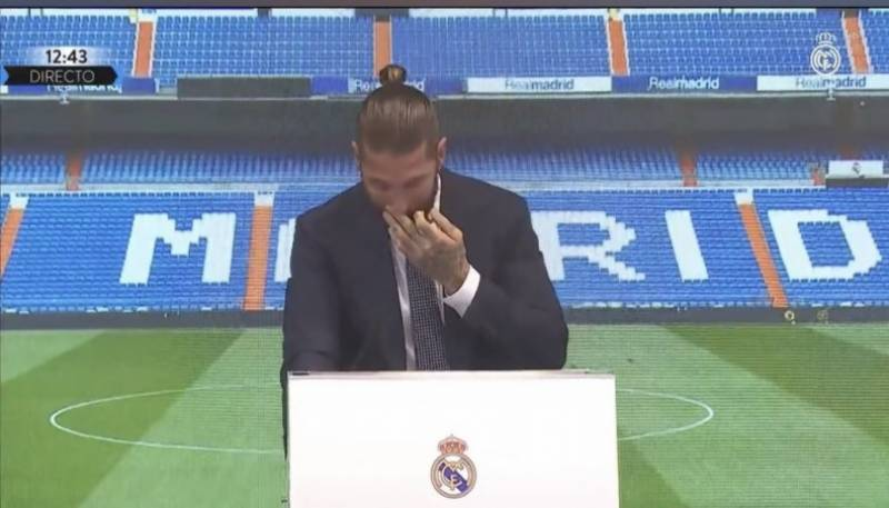 Tearful Ramos says he wanted to stay at Real Madrid