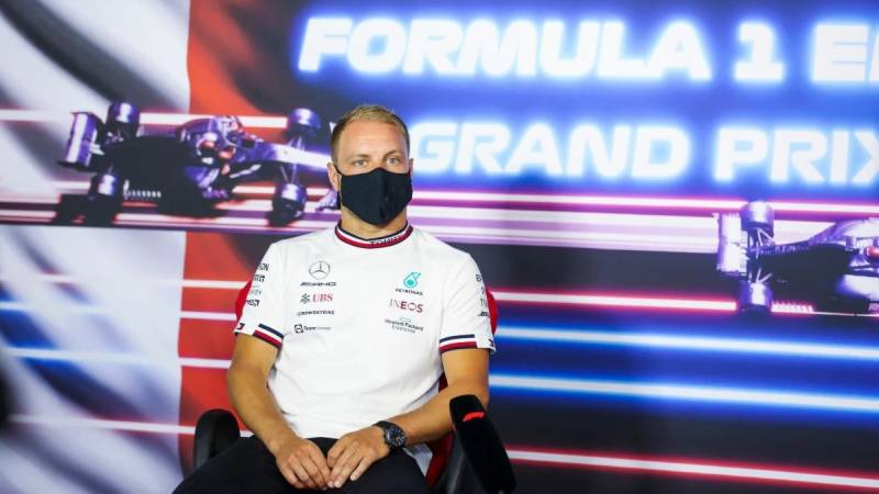 Bottas fastest in first French practice