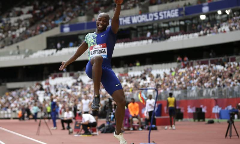 South African long jumper Luvo Manyonga gets four-year ban