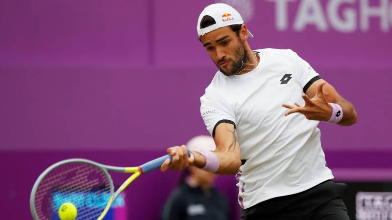 Berrettini into Queen's final on his debut after beating De Minaur