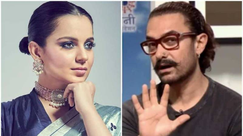 Kangana stoops to comparison with Aamir Khan when her passport renewal plea got rejected