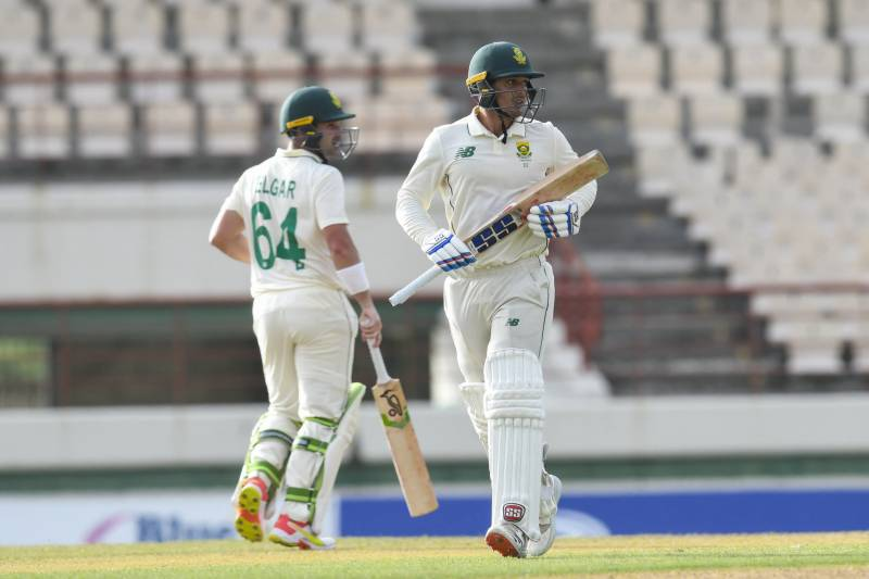 South Africa 218-5 at stumps in second Test against Windies