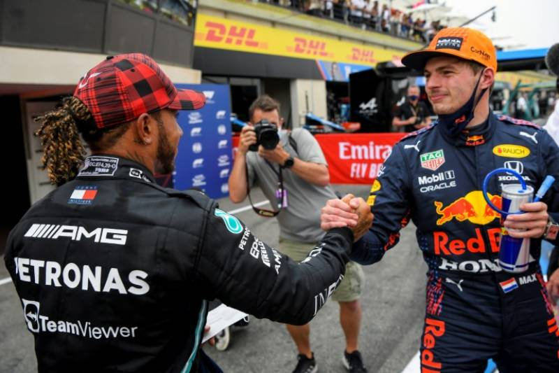 Title race heats up as Verstappen edges Hamilton for pole at French Grand Prix