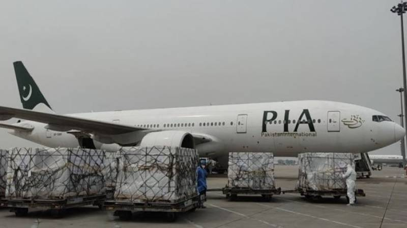 1.5 million SinoVac doses bought from China arrive in Islamabad