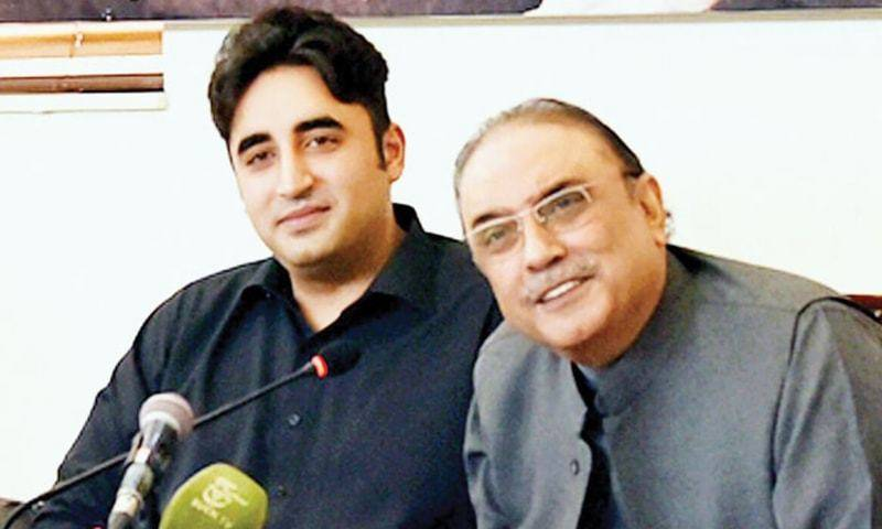 Bilawal expresses best wishes to Asif Ali Zardari on Father's Day