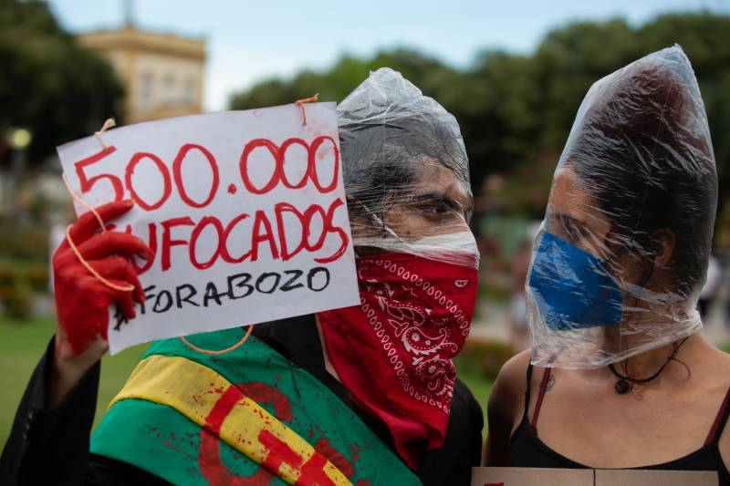 Brazil tops 500,000 Covid-19 deaths