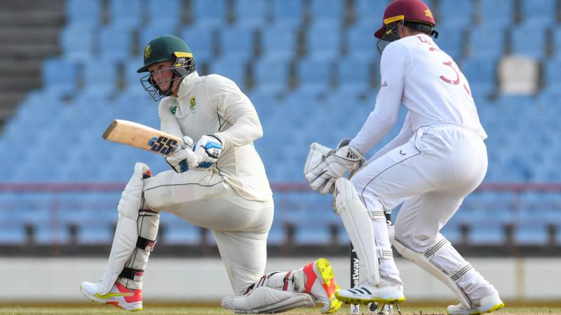Van der Dussen and Rabada put South Africa in charge of second Test