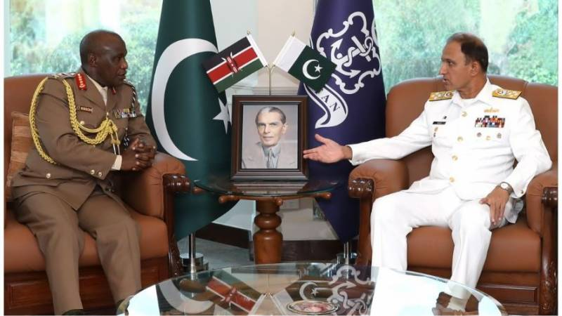 Chief of Defence Forces Kenya visits Naval Headquarters