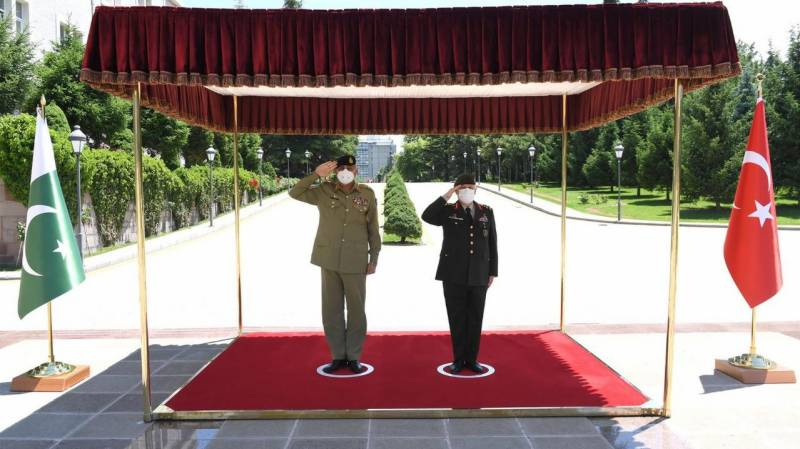COAS discusses defence cooperation, Afghan Peace Process during Turkey visit