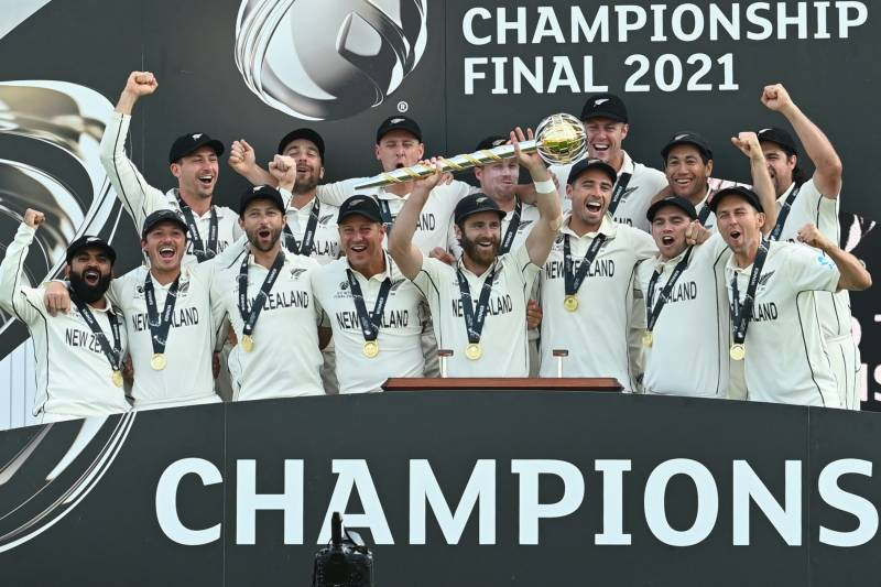 New Zealand beat India to become World Test Champion