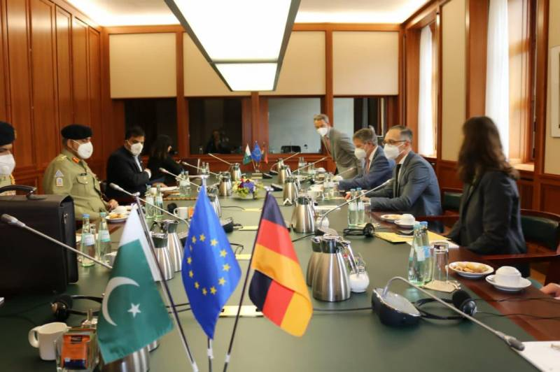 COAS, German Foreign Minister agree to enhance bilateral relations