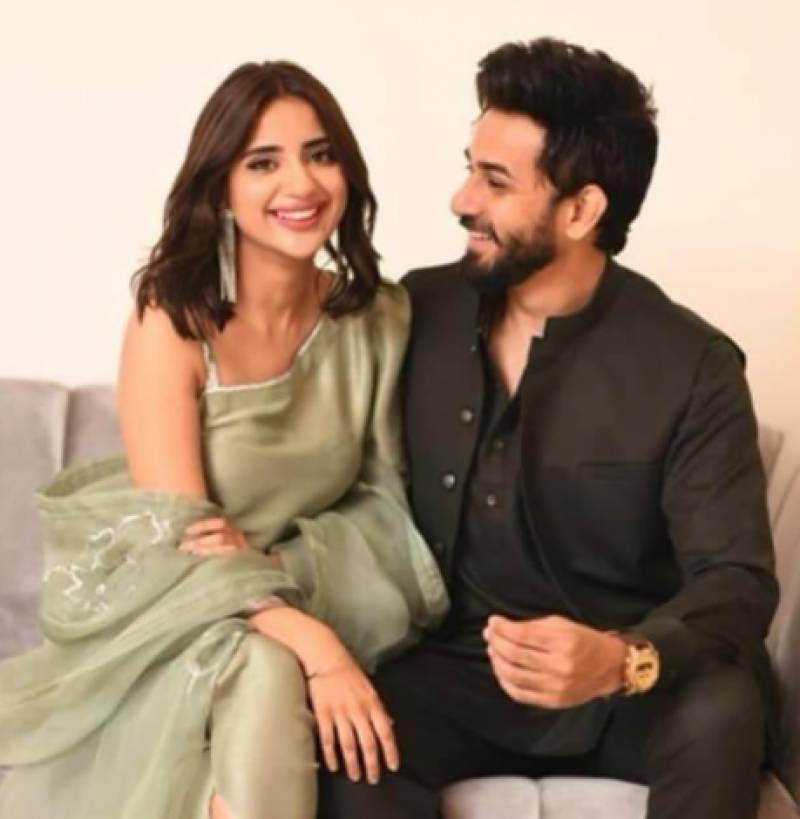 Saboor Aly and Ali Ansari's engagement was unplanned