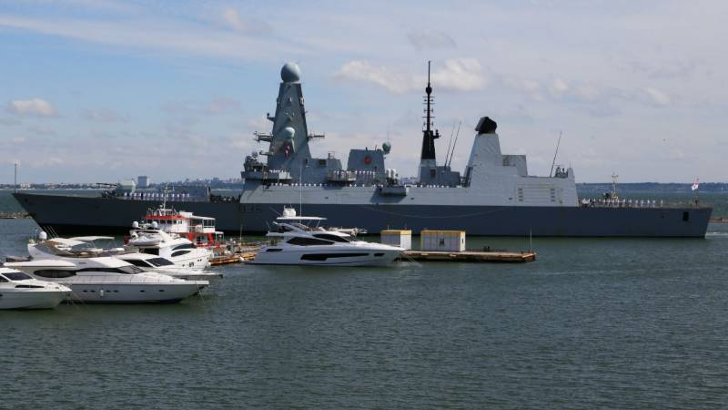Russia summons UK envoy to 'protest' warship incident