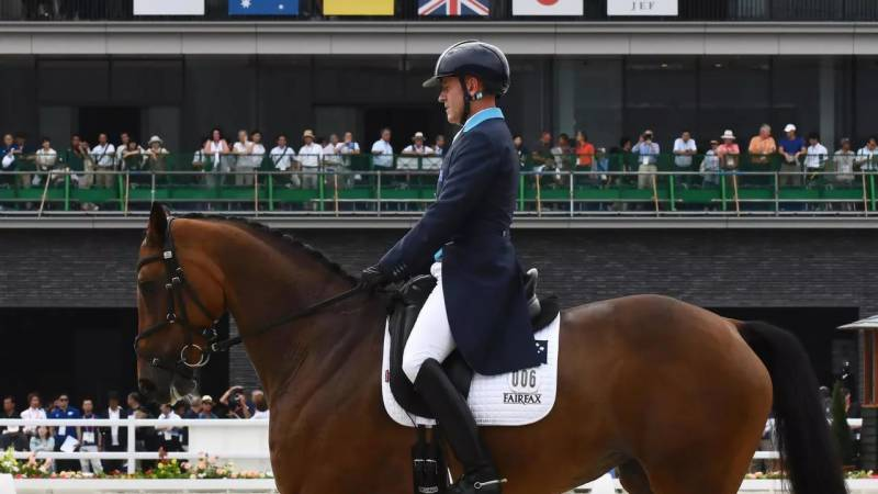 Aussie equestrian veteran Hoy qualifies for record eighth Olympics