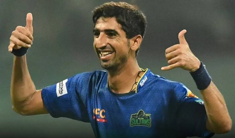 Multan Sultans' giant with killer pace and killer smile