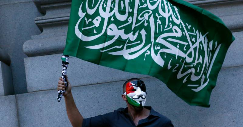 Hamas flag banned in Germany under new terror rules