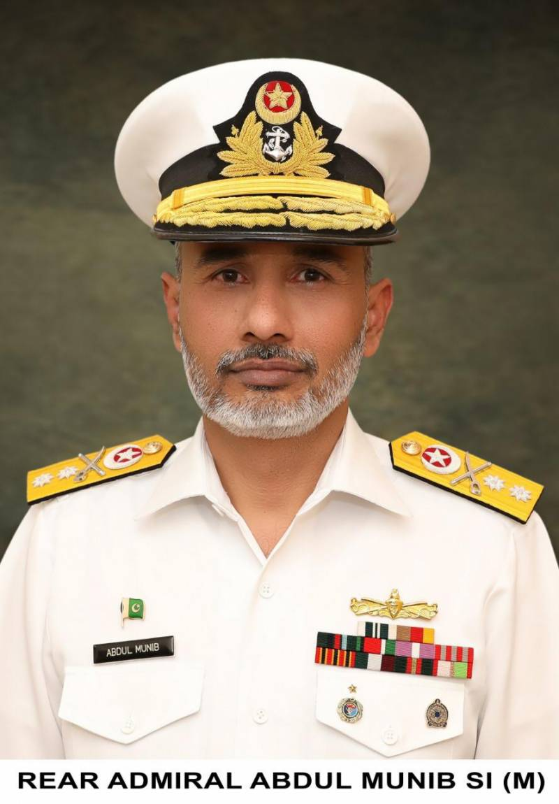 Commodore Abdul Munib of Pakistan Navy promoted to Rear Admiral