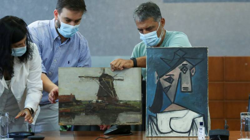 Greece recovers Picasso stolen in 2012: police