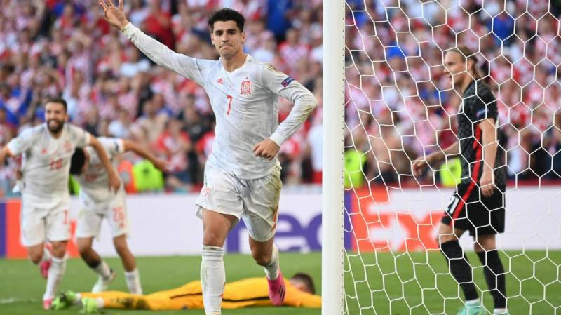Spain prevail in extra-time epic with Croatia to reach Euro 2020 last eight