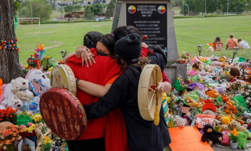 182 unmarked graves found at third Canadian school: tribe