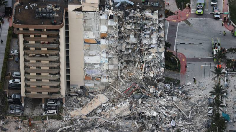 Death toll rises to 16 in US condo collapse