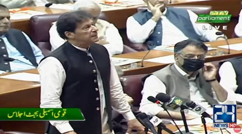Joining Afghan war with Americans was a mistake, Imran tells NA