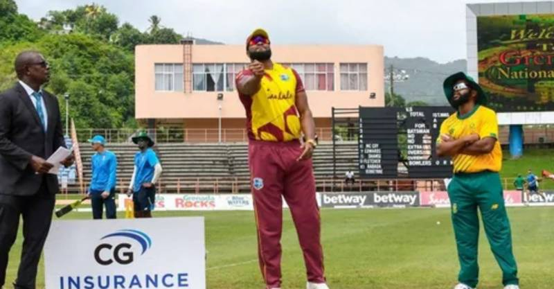 West Indies win toss, field against South Africa in 3rd T20