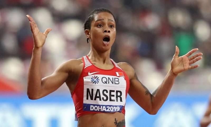 World 400m champion Naser gets two-year doping ban, misses Tokyo Olympics