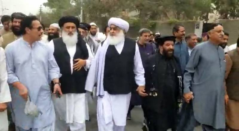 Balochistan MPs stay put as govt withdraws their names from FIR