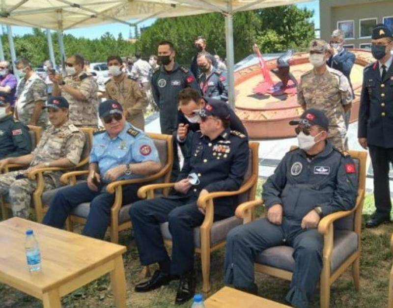 PAF chief witnesses Anatolian Eagle-2021 exercise in Turkey