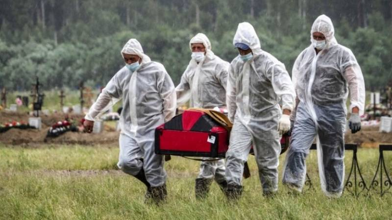 Russia posts record virus deaths for third day running