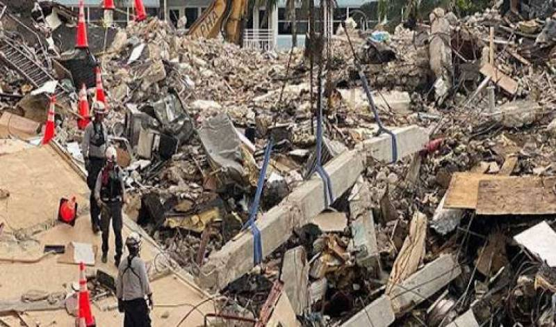 Florida building collapse toll rises to 20
