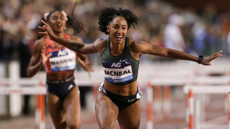 Olympic hurdles champ McNeal banned from Tokyo