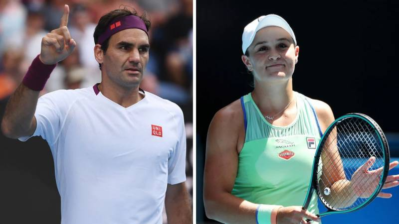 Federer bids to silence home support, Barty seeks to fire at last