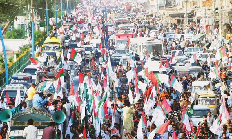 MQM-P demands creation of South Sindh province