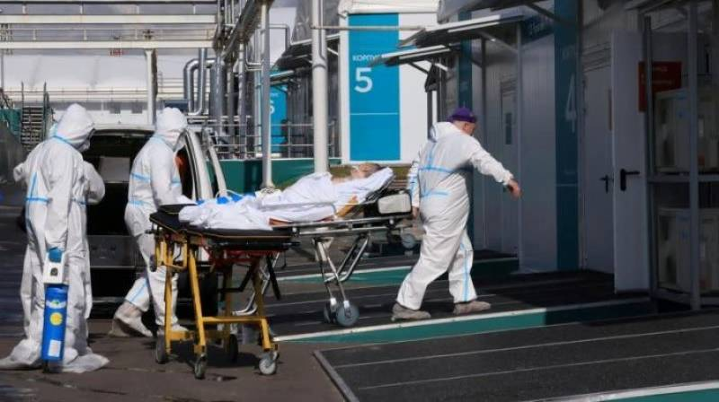 Russia reports record Covid deaths for fifth straight day