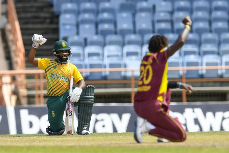 South Africa elect to bat in 5th West Indies T20