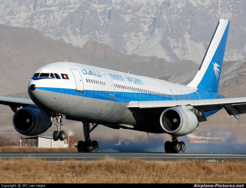 Afghan airline seeks permission to start flights from Pakistan