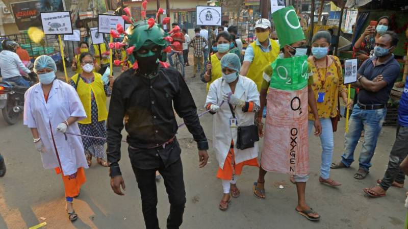 Bangladesh extends lockdown as cases hit new record
