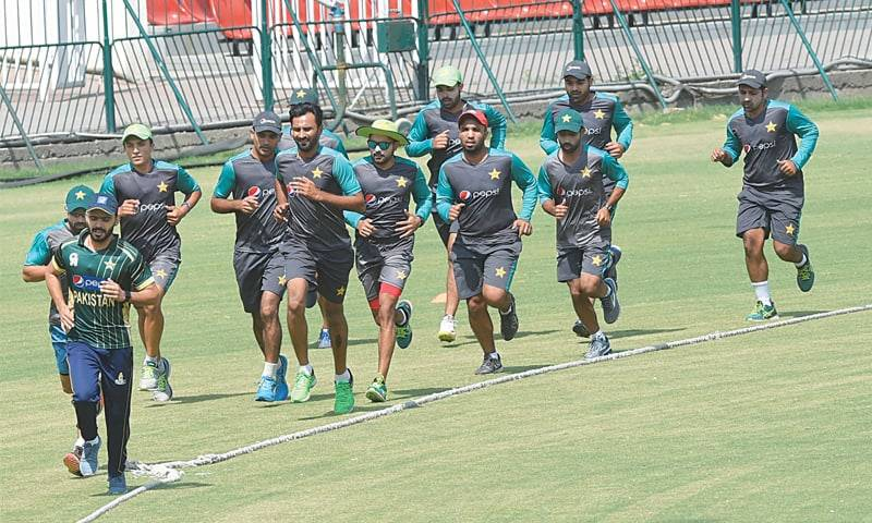 Test players' camp in Karachi from Wednesday