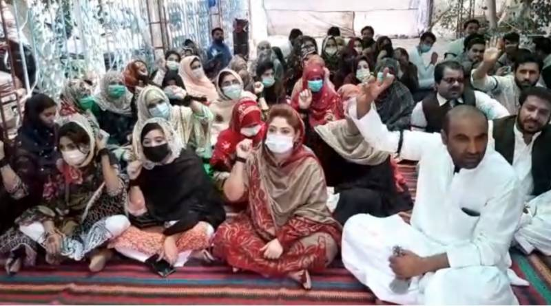 Nurses stage protest against removal in Quetta