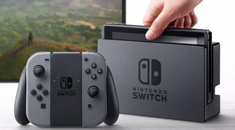 Nintendo unveils new Switch game console
