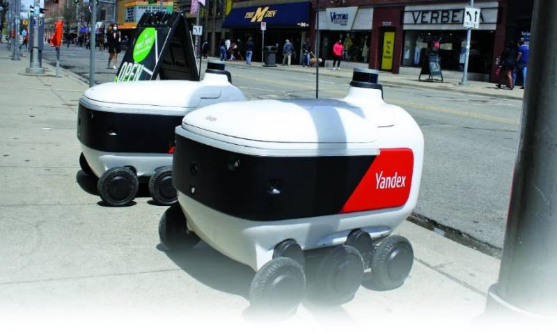 Russia's Yandex to launch delivery robots in US