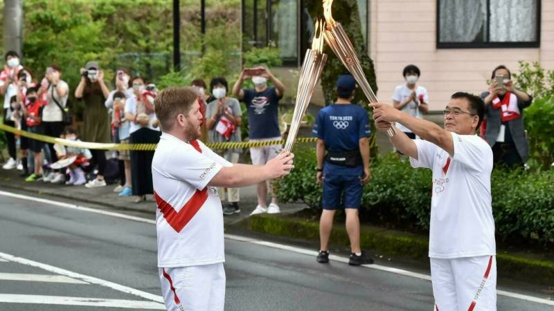 Tokyo scraps Olympic torch relay legs in capital