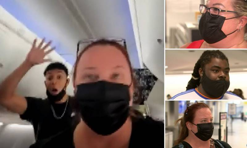 Flight in US delayed by teens refusing to wear masks