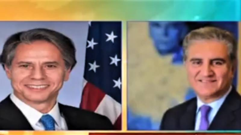 FM, US secretary of state talk about regional situation over phone
