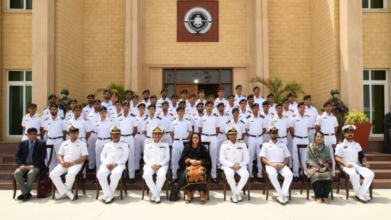 Annual prize distribution ceremony held at Pakistan Navy Cadet