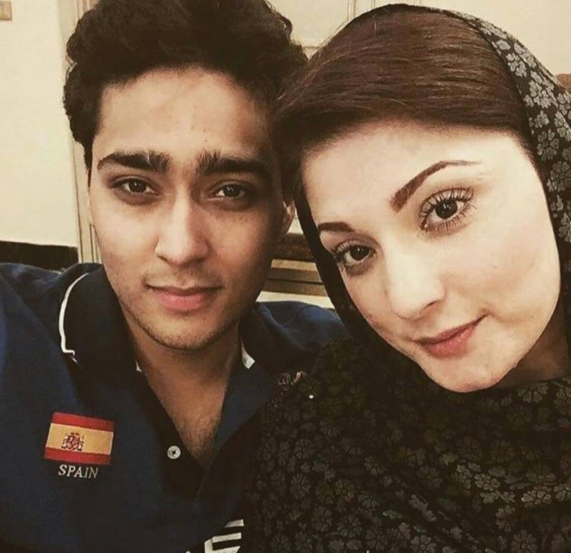 Maryam Nawaz finds a match for her son