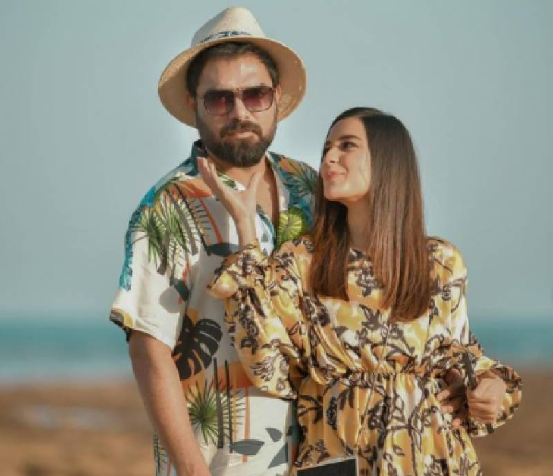 Obedient Iqra Aziz takes fewer projects after husband Yasir's advice