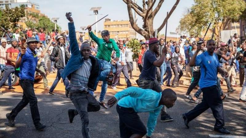 Violence spreads after ex-president jailed in South Africa